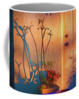 Doorway In The Hot Summer Sun. Coffee Mug