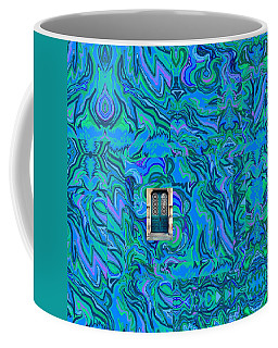 Doorway Into Multi-layers Of Water Art Collage Coffee Mug