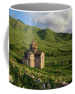 Dorband Monastery In The Field, Armenia Coffee Mug