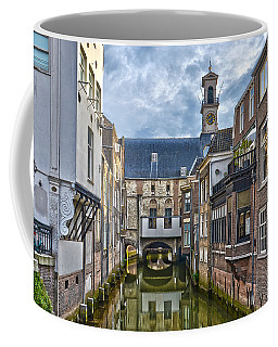 Coffee Mug featuring the photograph Dordrecht Town Hall by Frans Blok