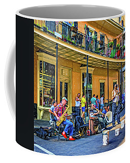 Doreen's Jazz New Orleans 2 - Paint Coffee Mug