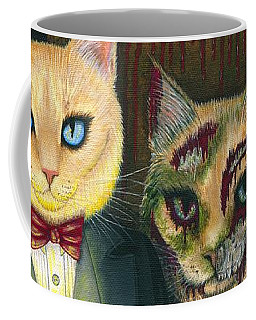 Coffee Mug featuring the painting Dorian Gray by Carrie Hawks