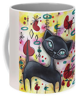 Dorothy Cat Coffee Mug by Abril Andrade Griffith
