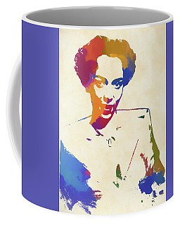 Dorothy Dandridge Watercolor Coffee Mug