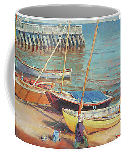 Dory Beach Coffee Mug