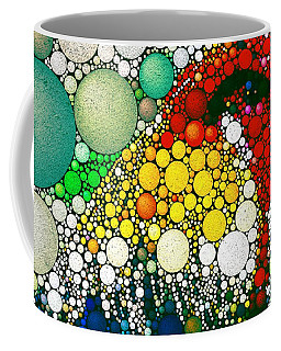 Coffee Mug featuring the digital art Dotty Doodle Doo by Mark Taylor