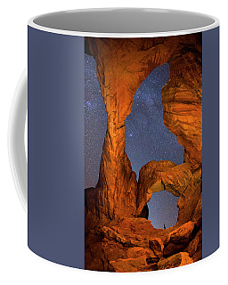 Double Arch At Night Coffee Mug