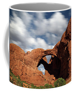 Double Arch In The Moonlight Coffee Mug