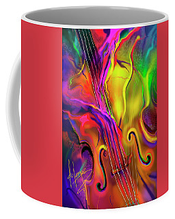 Double Bass Solo Coffee Mug