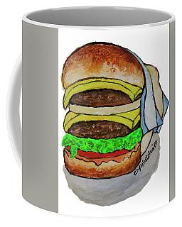 Double Cheeseburger Coffee Mug