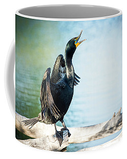 Double-crested Cormorant Coffee Mug