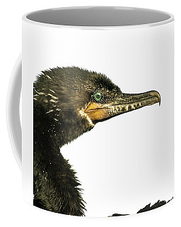 Coffee Mug featuring the photograph Double-crested Cormorant  by Robert Frederick