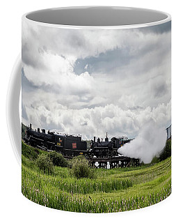 Double Header Coffee Mug