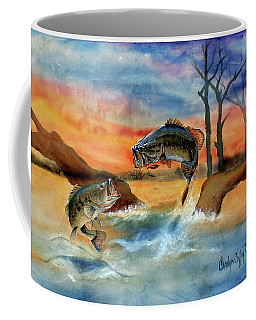 Double Jump Detail Coffee Mug