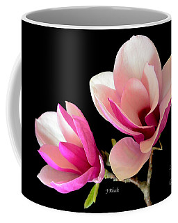 Double Magnolia Blooms Coffee Mug