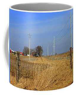 Double Post 4 Of 5 Coffee Mug by Tina M Wenger