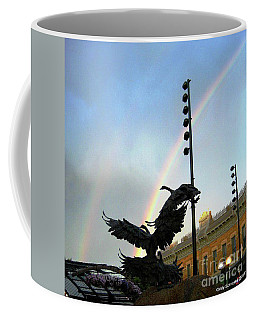 Double Rainbow Over Old Town Square Coffee Mug