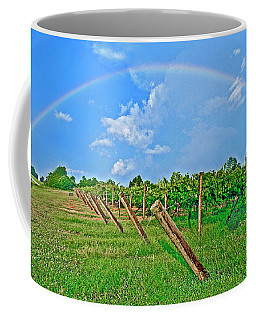Double Rainbow Vineyard, Smith Mountain Lake Coffee Mug