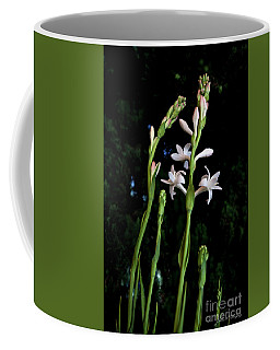 Double Tuberose In Bloom Coffee Mug