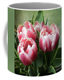 Double Tulips Coffee Mug