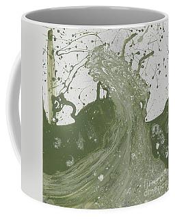 Double Up Wave Coffee Mug by Talisa Hartley