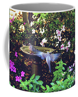 Dove In Flight Coffee Mug