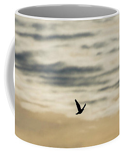 Dove In The Clouds Coffee Mug