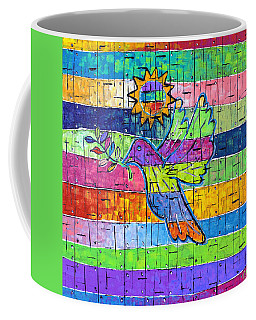 Dove Of Peace, Color And Light Coffee Mug