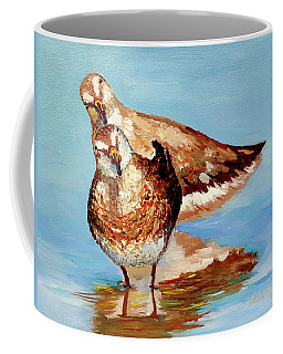 Dowitcher Birds Coffee Mug
