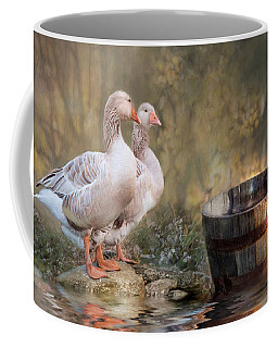Coffee Mug featuring the photograph Down By The River by Robin-Lee Vieira