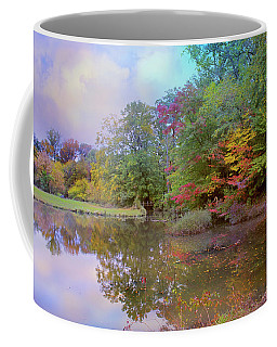 Coffee Mug featuring the photograph Down By The Pond by John Rivera