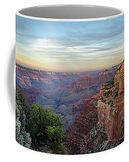 Coffee Mug featuring the photograph Down Canyon by Gaelyn Olmsted