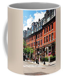 Down Newberry Street Coffee Mug by James Kirkikis