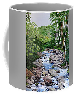Down Stream  Coffee Mug by Marilyn McNish