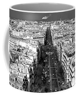 Down The Boulevard In Paris Coffee Mug