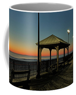 Down The Shore At Dawn Coffee Mug