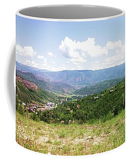 Down The Valley At Snowmass #2 Coffee Mug