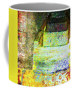 Coffee Mug featuring the mixed media Down by Tony Rubino