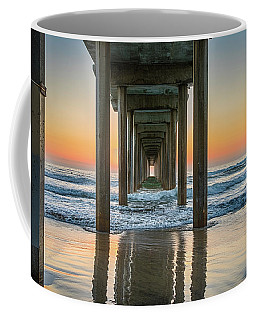 Down Under Scripp's Pier  Coffee Mug