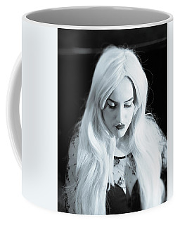 Coffee Mug featuring the photograph Downcast by Ian Thompson
