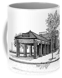 Downers Grove Main Street Train Station Coffee Mug