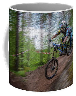 Downhill Race Coffee Mug