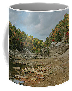 Downstream From Cumberland Falls Coffee Mug