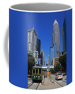 Downtown Charlotte Trolley 1  Coffee Mug