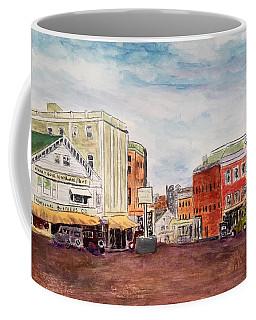 Downtown Amesbury Ma Circa 1920 Coffee Mug