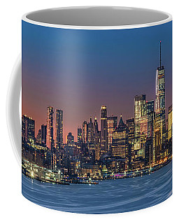 Downtown And Freedom Tower Coffee Mug