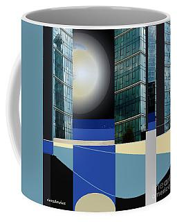 Downtown Coffee Mug by Andrew Drozdowicz
