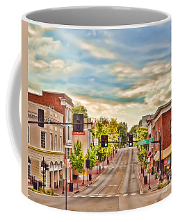 Downtown Blacksburg Coffee Mug by Kerri Farley