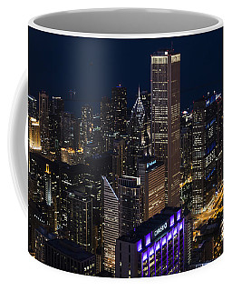 Downtown Chicago Coffee Mug by Andrea Silies