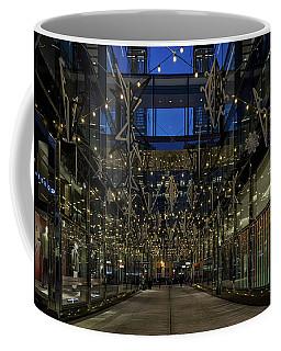 Downtown Christmas Decorations - Washington Coffee Mug
